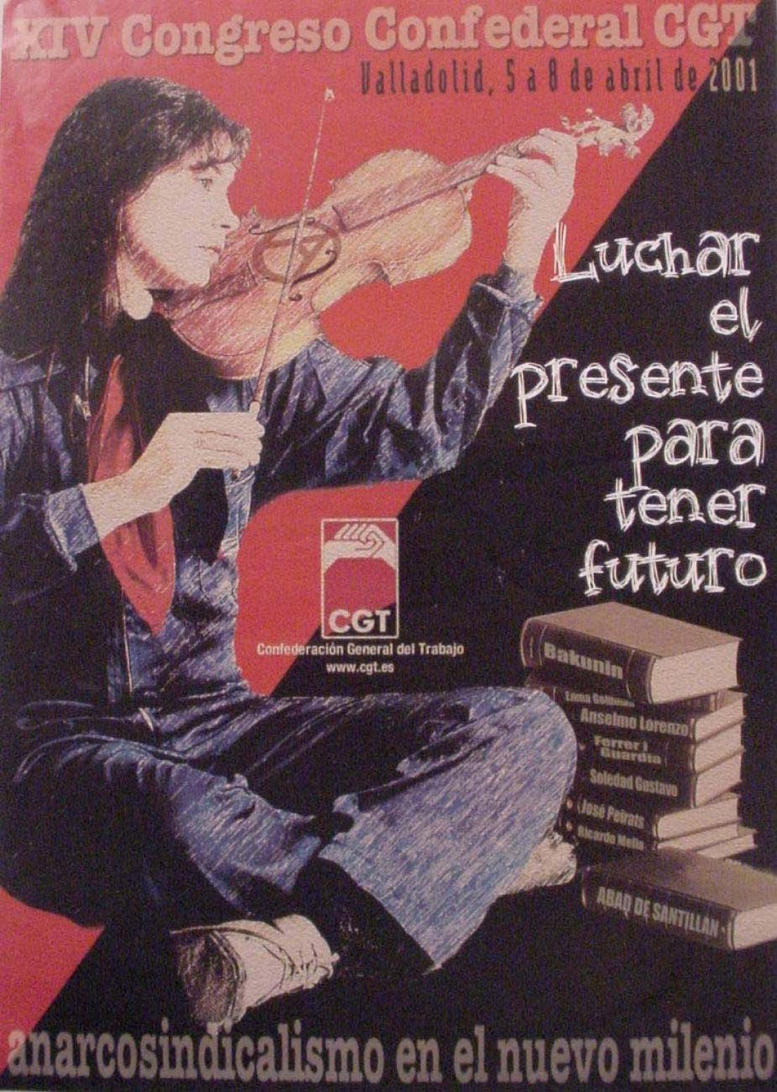 XIV Congreso Confederal Valladolid 2001