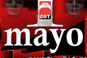 Cartel 1 Mayo 2003 CGT