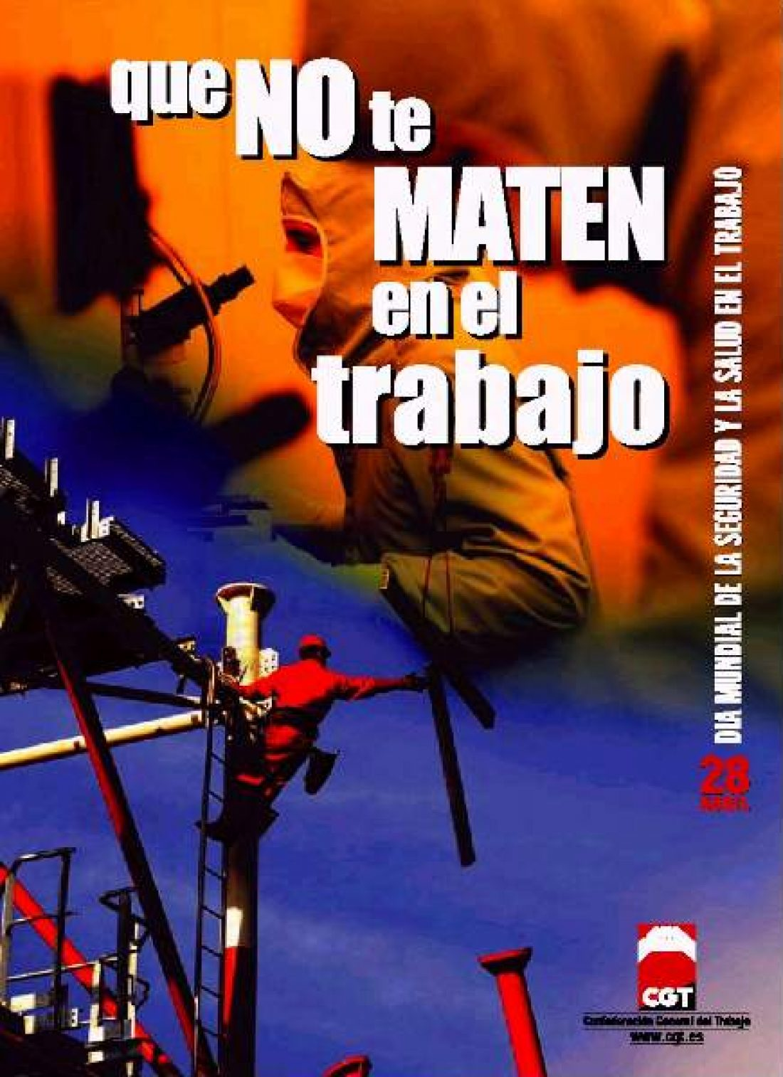 Cartel 28 Abril 2003 CGT
