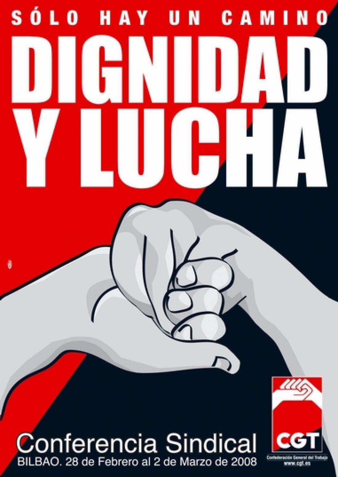 CGT celebra en Bilbao su conferencia sindical estatal