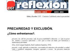 MR 05 Precariedad y Exclusión