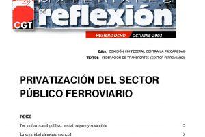 MR 08 Privatización del Sector Ferroviario