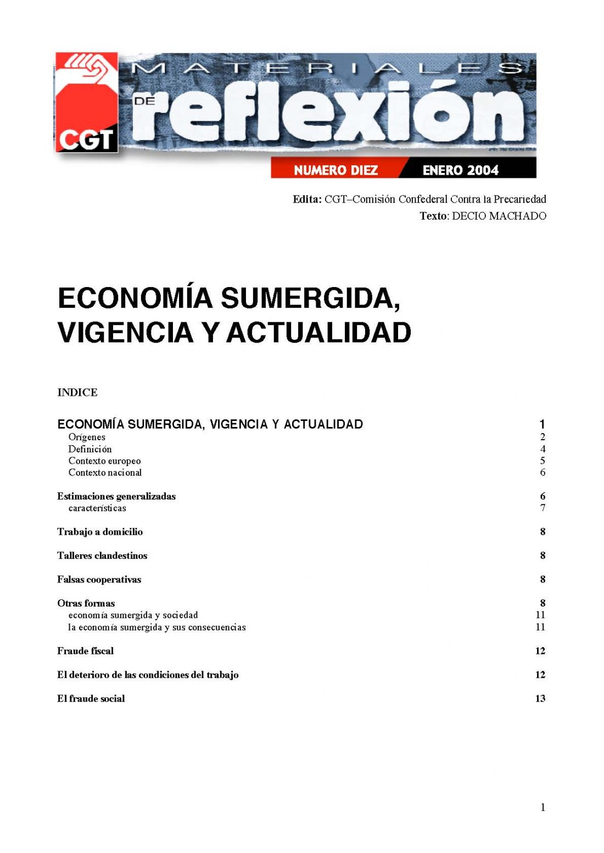MR 10 Economía sumergida