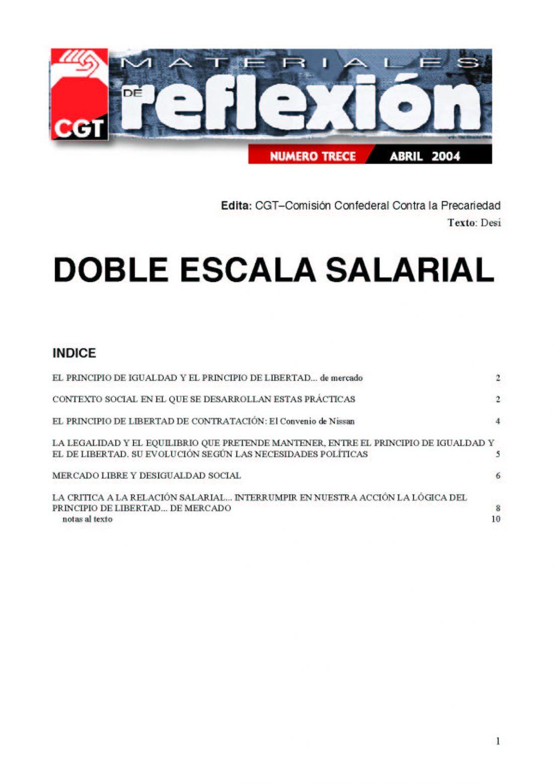 MR 13 Doble Escala Salarial