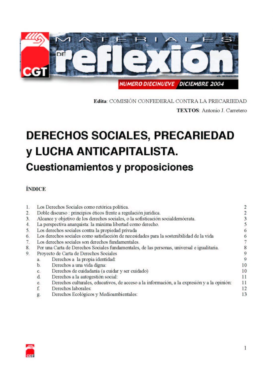 MR 19 Derechos Sociales