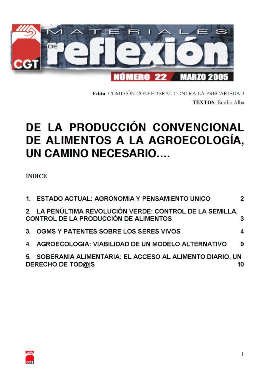 MR 22 Agroecología