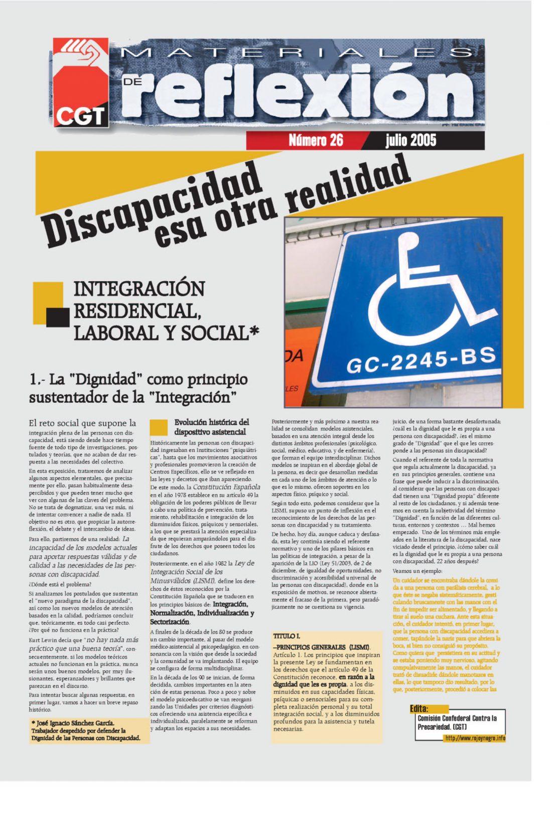 MR 26 Discapacidad