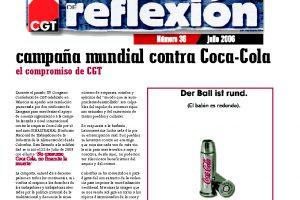 MR 36 Campaña mundial contra Coca-Cola
