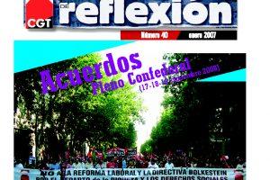 MR 40 Acuerdos Pleno Confederal XI/2006