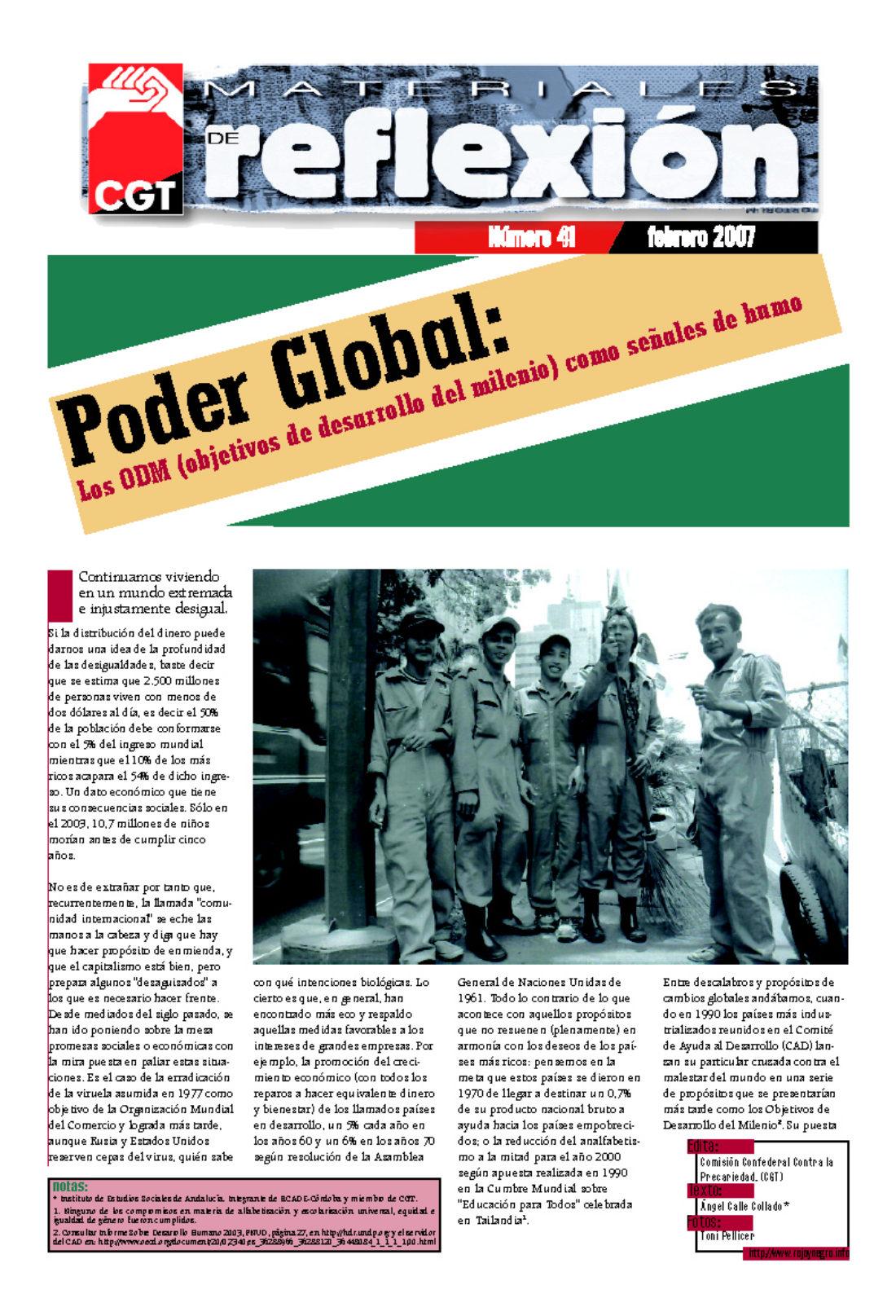 MR 41 Poder Global