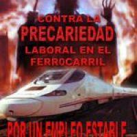 Campaña contra la precarización en el Sector Ferroviario
