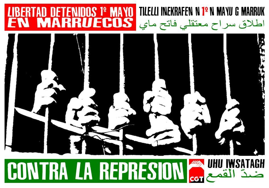 Solidaridad Internacional en este Primero de Mayo