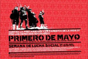 Cartel Semana de lucha social 2008 (Sevilla)