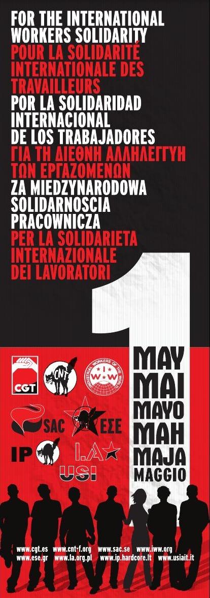 Hacia un Primero de Mayo Internacionalista y Libertario