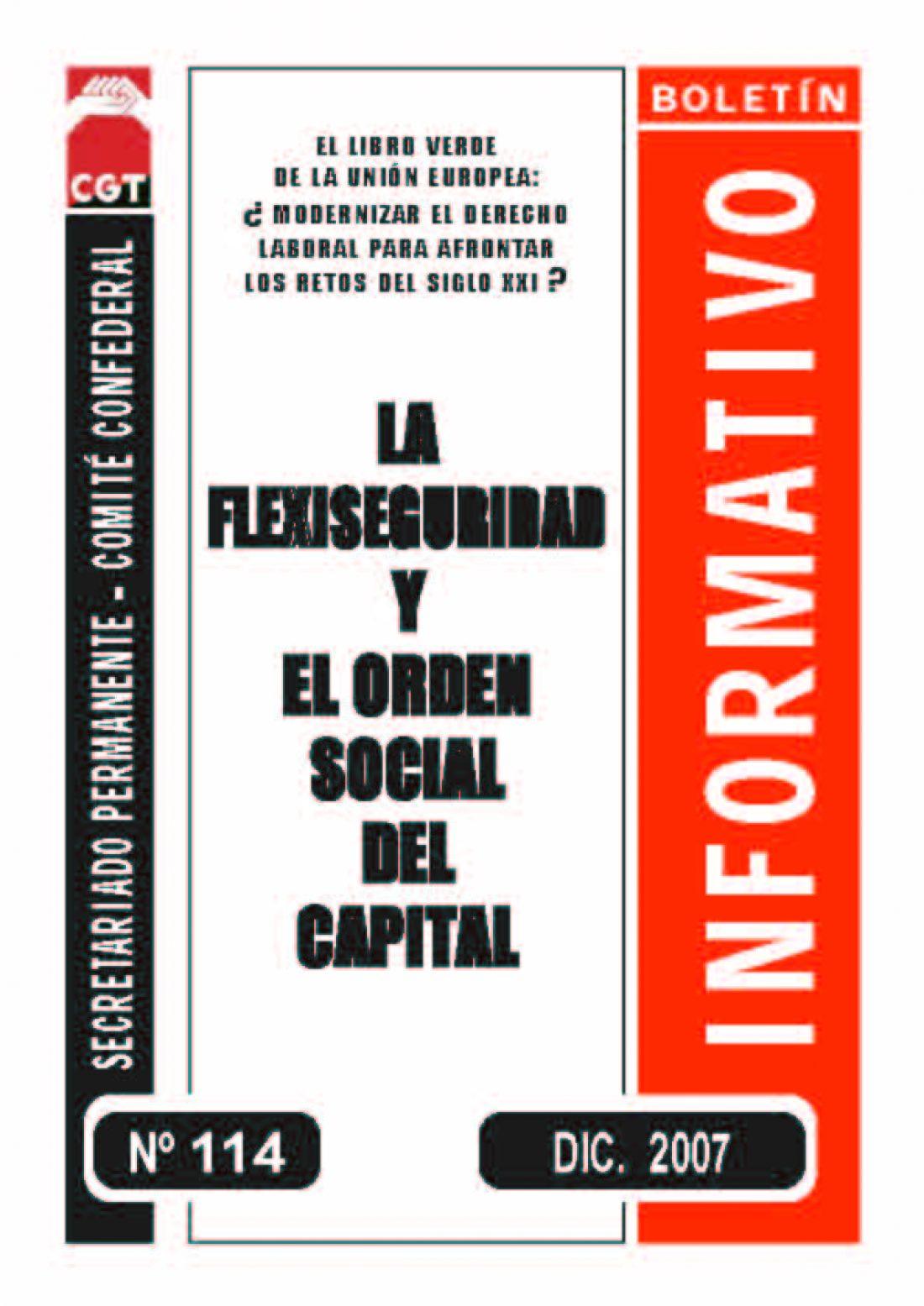 114. La Flexiseguridad y el orden social del capital