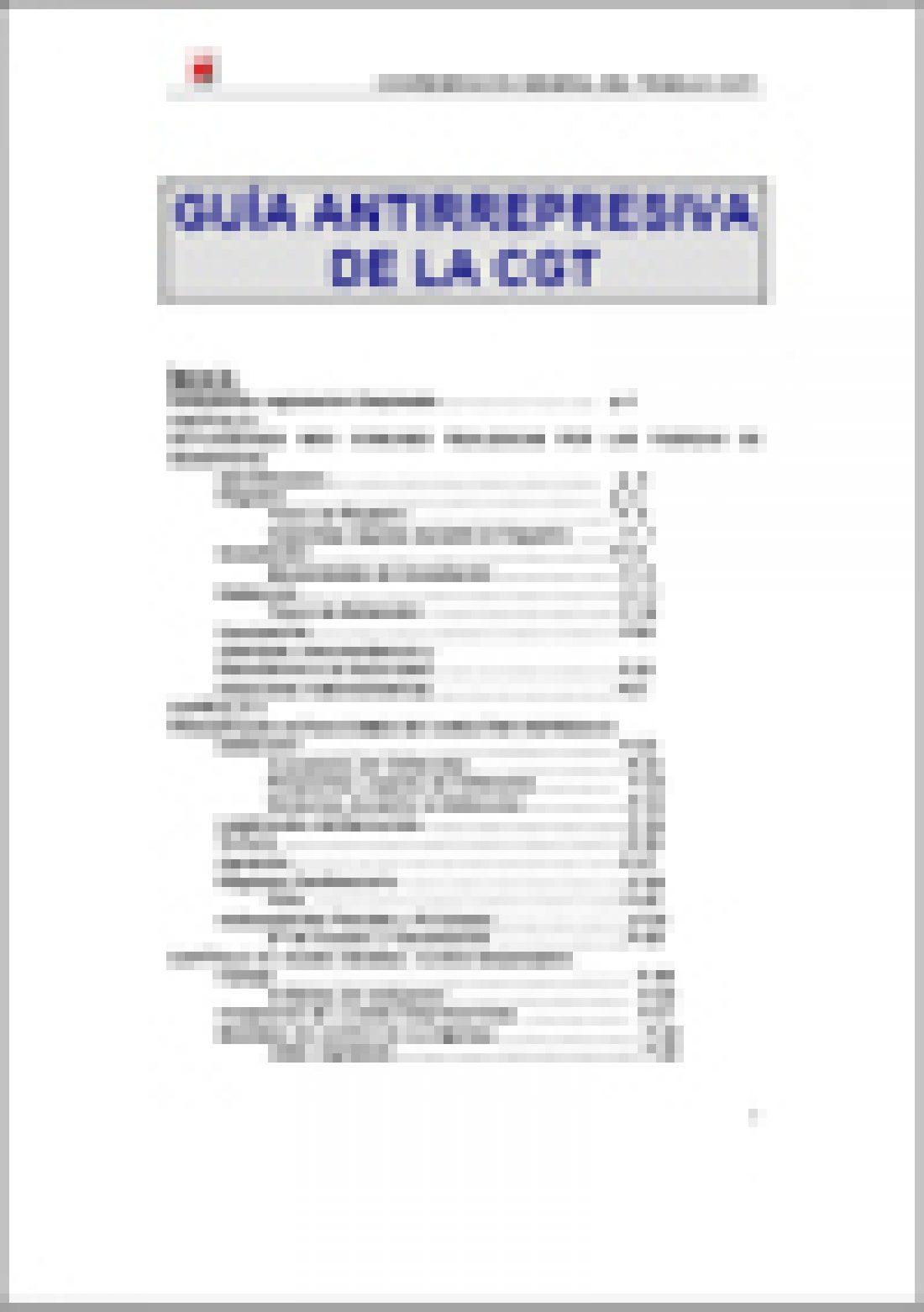 Guía Antirepresiva de la CGT (Ed. 2007)