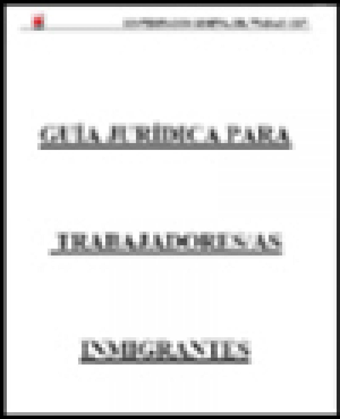 Guía Jurídica para Trabajadoras y Trabajadores inmigrantes (Ed. 2006)