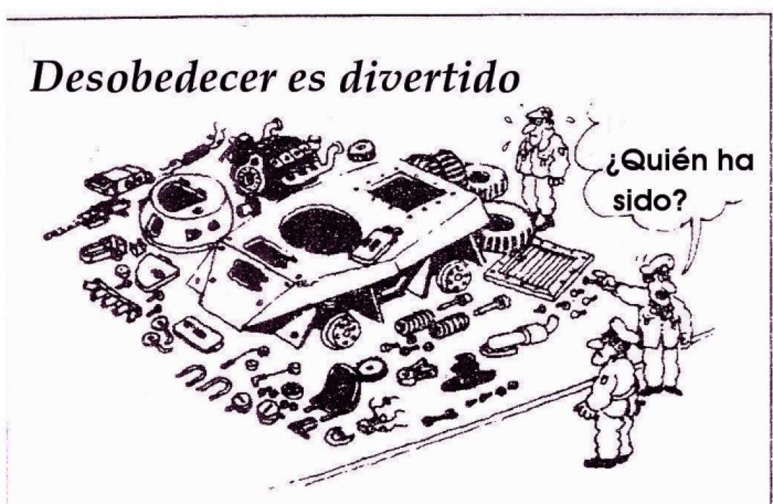 En Madrid, Piscolabis-Taller sobre Objección Fiscal