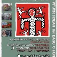 Cartel 1 mayo Alternativo 2008 (Barcelona)