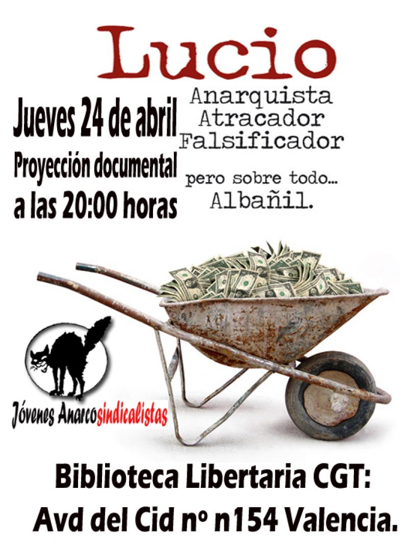 Cartel Jornadas 1 Mayo 2008 CGT (València) - Imagen-1