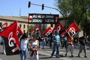Toledo: CGT también ha salido a la calle
