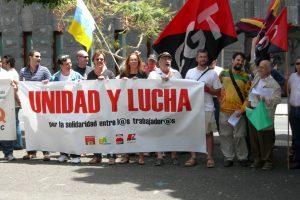CGT Tenerife también se ha sumado a las movilizaciones del 1º de Mayo