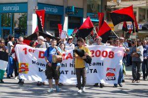 Palma: 1er de Mayo 2008 a les Illes Balears