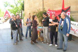 Cáceres: crónica y fotos de la concentración de CGT