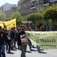 Salamanca: crónica y foto de la manifestación de CGT
