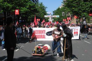 Bilbao: crónica y fotos de la manifestación de CGT-LKN