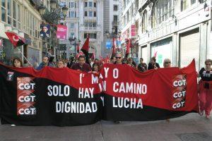 Zaragoza: fotos de la manifestación de CGT