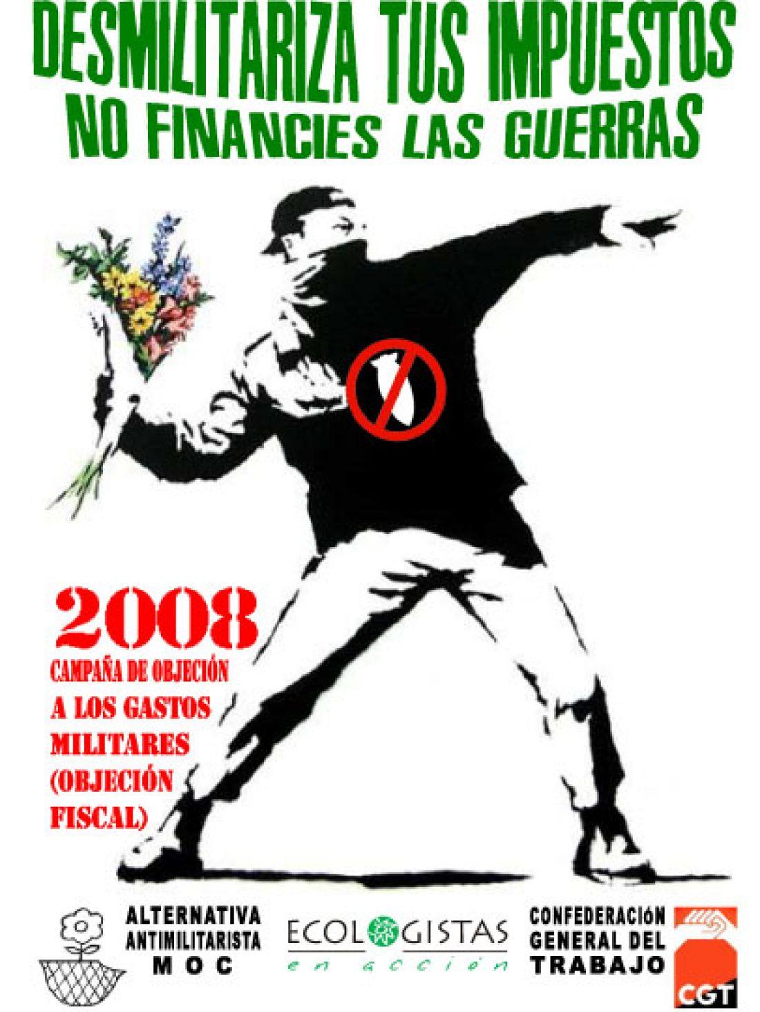 Campaña Objección Fiscal en Murcia