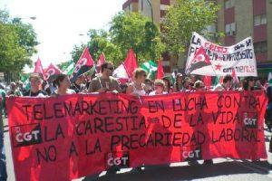 Sevilla: 3.000 personas se manifiestan contra la precarización de la existencia