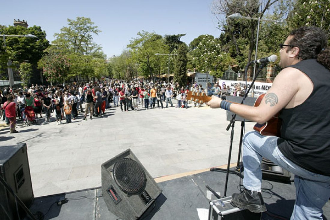 Madrid: 500 personas en un 1º de Mayo «diferente»
