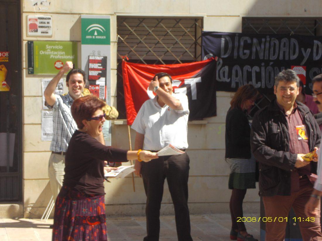 Úbeda: el 1º de Mayo en la provincia de Jaén