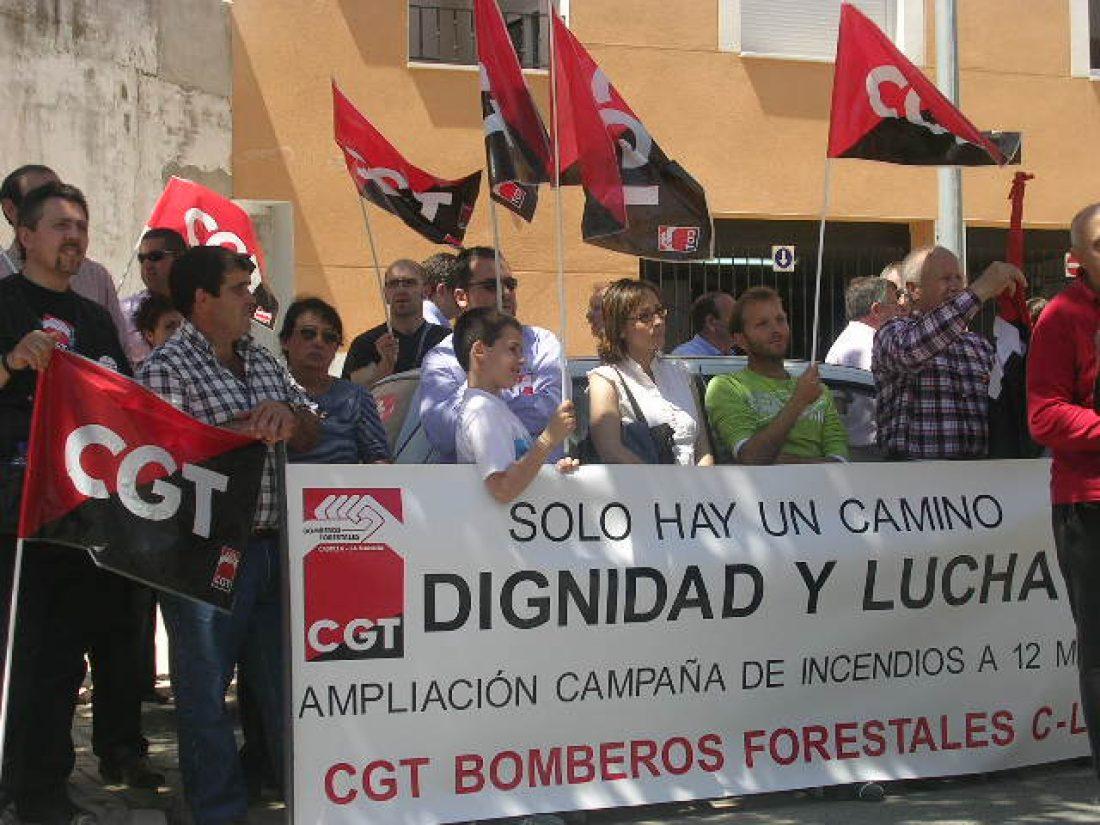 Alcázar de San Juan: fotos de la concentración de CGT