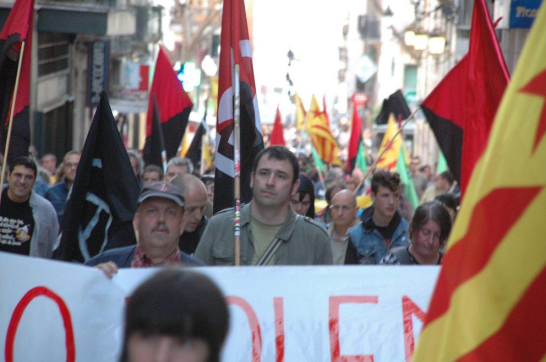 Tarragona. Gran participación en la manifestación alternativa