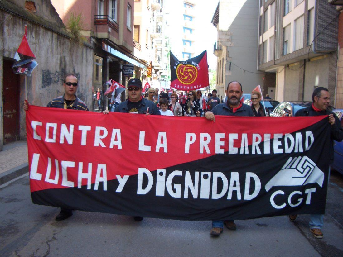 Torrelavega: crónica e imágenes de la manifestación de CGT
