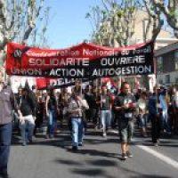 CNT-F: Primero de Mayo en Perpignan y Paris