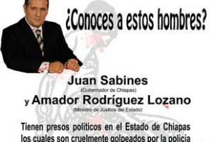 Campaña mundial de difusión y denuncia contra el Gobierno del estado Chiapas