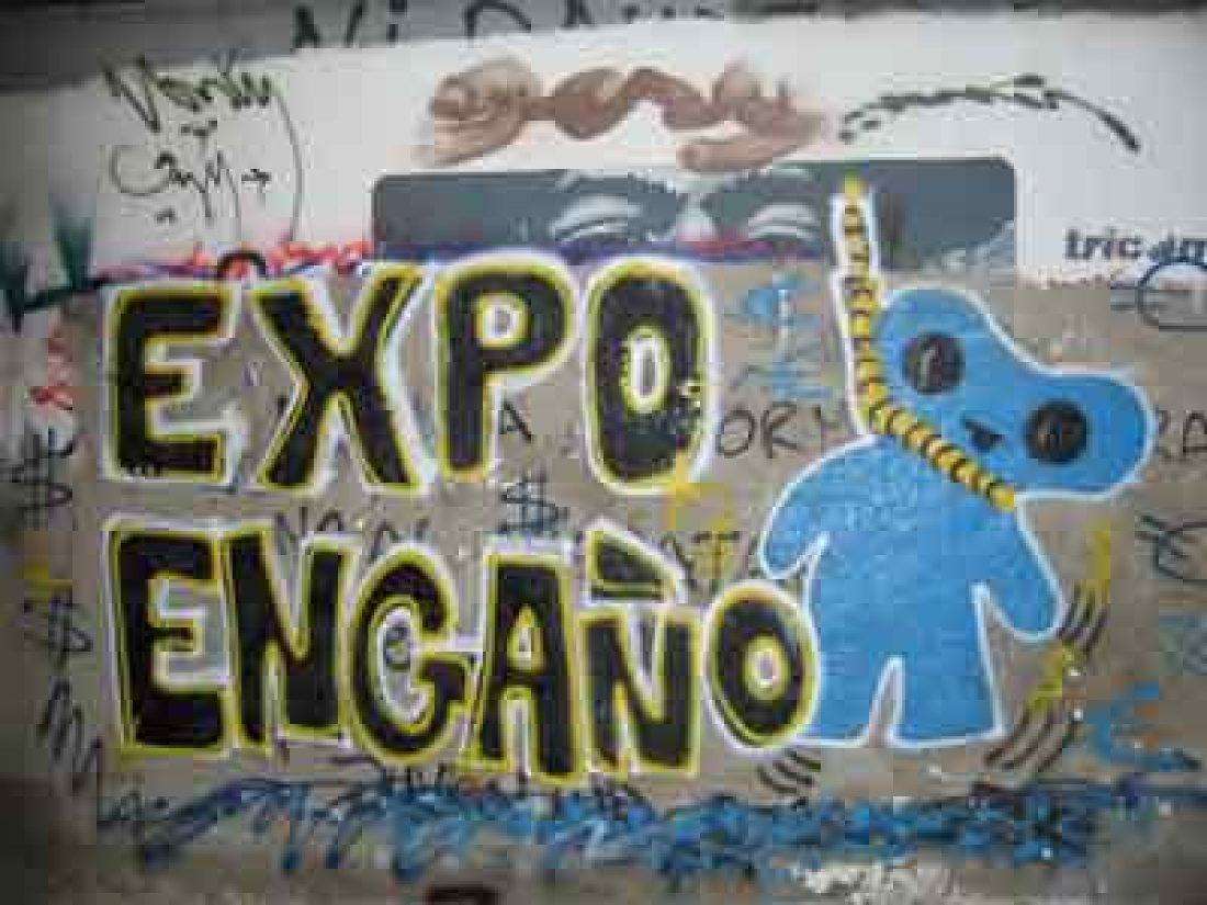 NO a la Expo de Zaragoza: Crónica de la Manifestación (14/6/08)