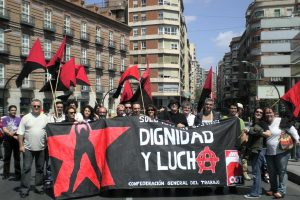 Murcia: anarkofiesta en la plaza Camachos