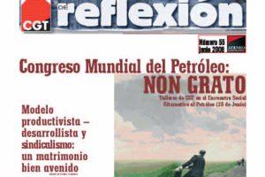 MR 55 Congreso Mundial del Petroleo: NON GRATO