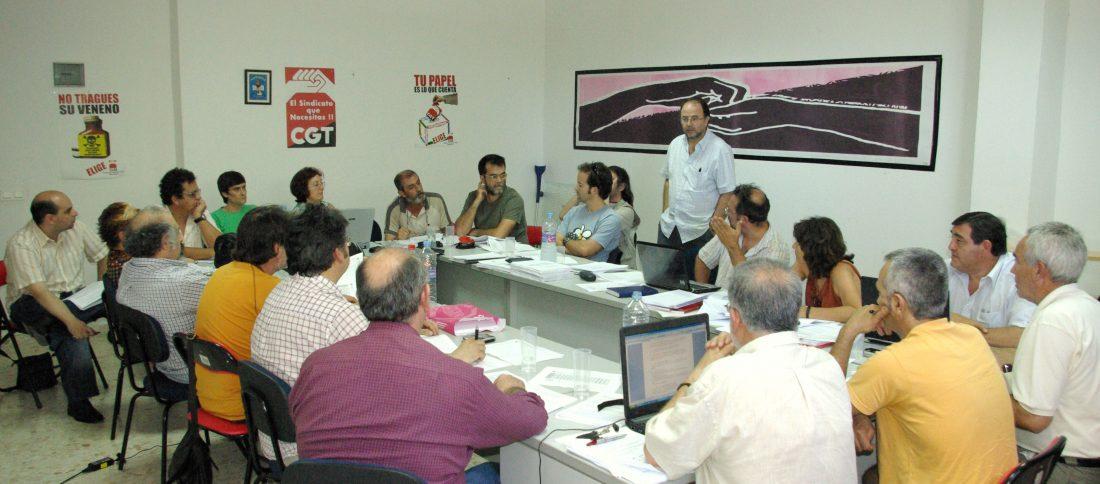 Pleno de la Federación Andaluza de Sindicatos de Enseñanza de CGT