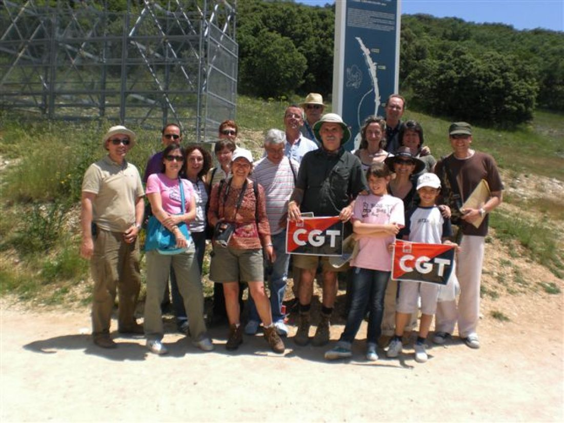 La Sección Sindical de CGT en CLH visita Atapuerca