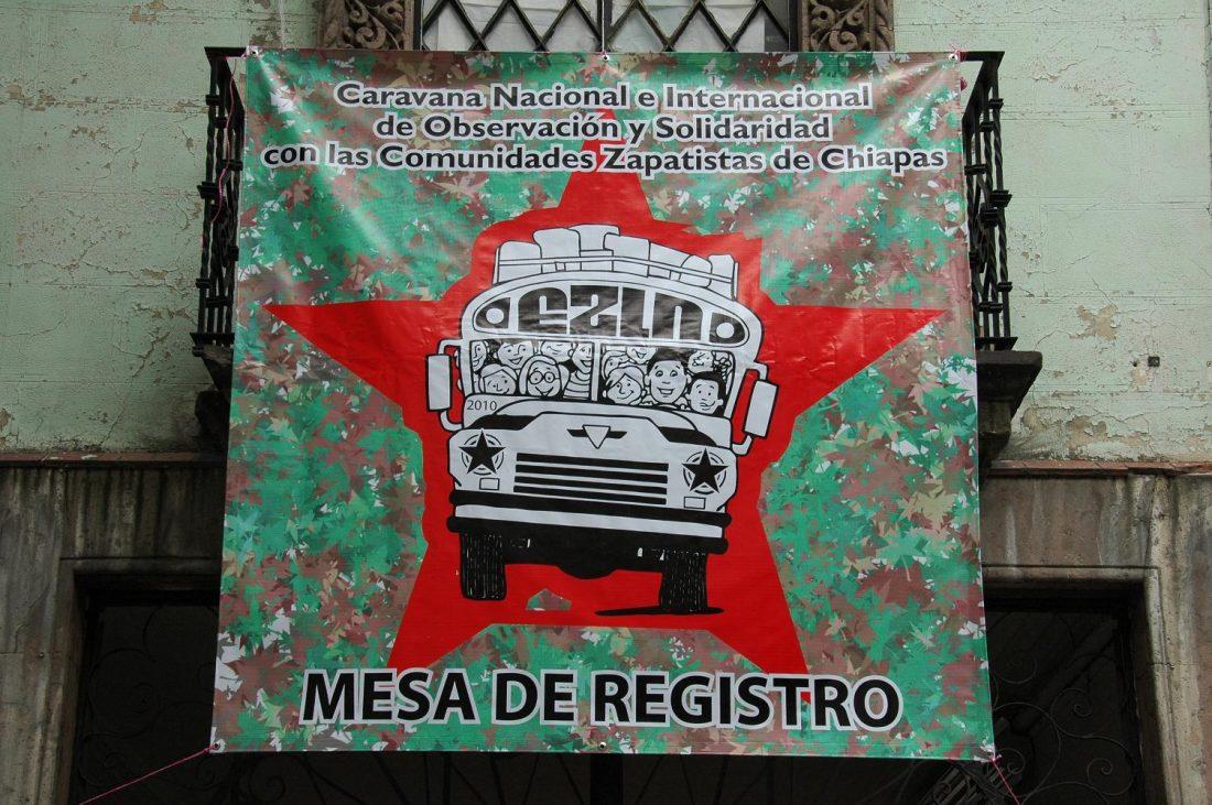 Caravana Nacional e Internacional de Observación y Solidaridad con las Comunidades Zapatistas de Chiapas: Crónicas y fotos