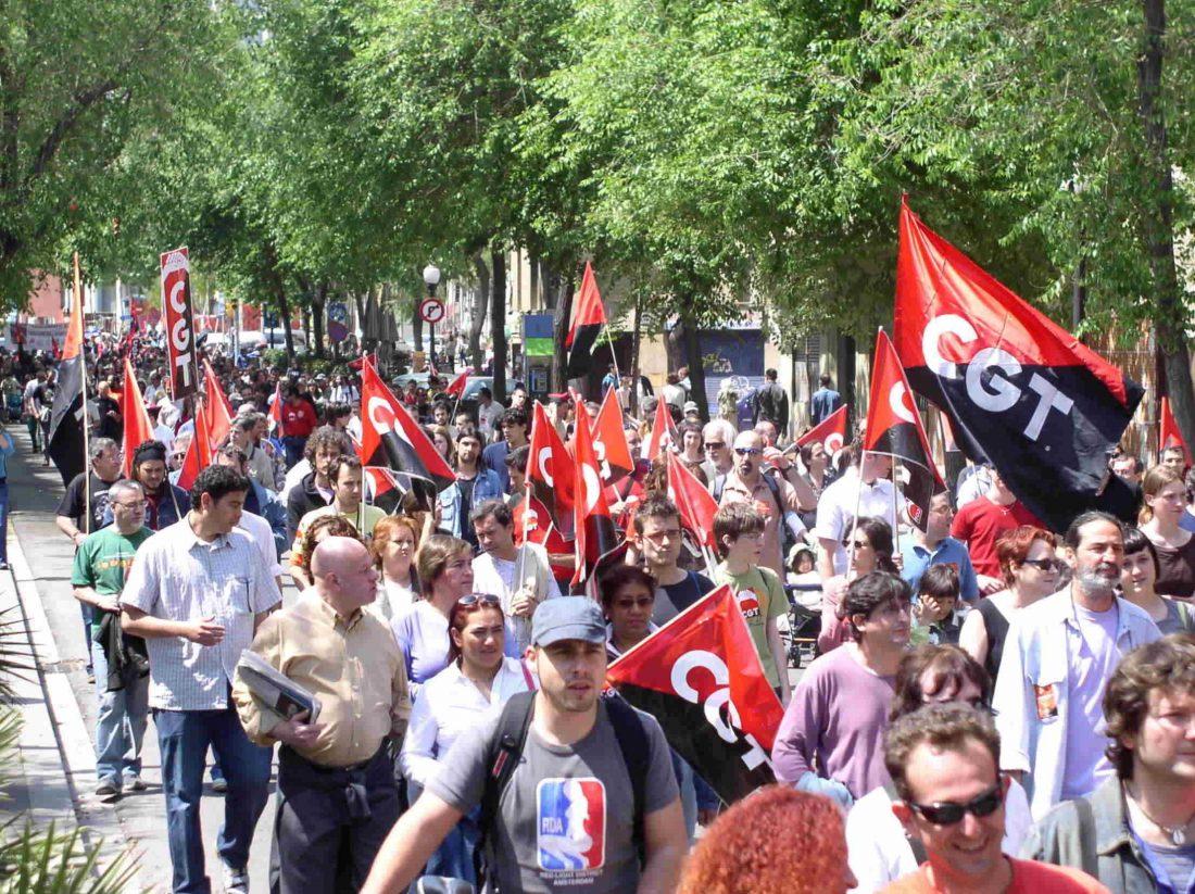 Respuesta sindical y social de CGT frente a la crisis económica (4/9/08)