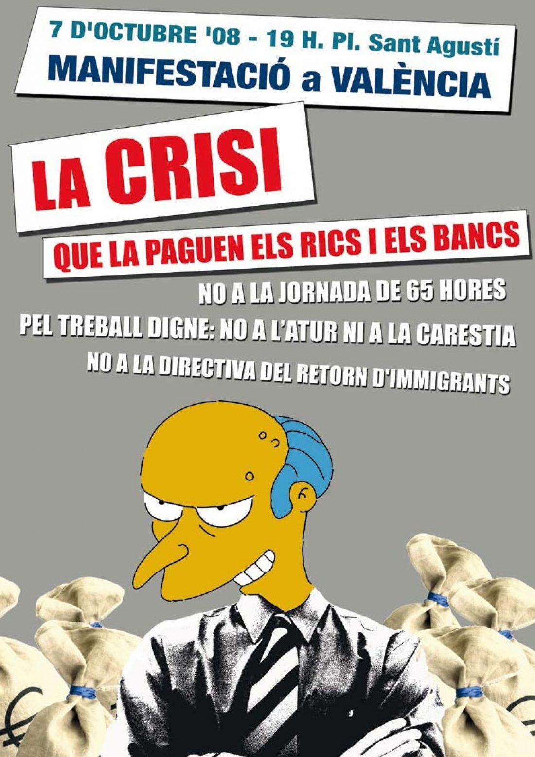 Miles de trabajadores se manifiestan contra la directiva de las 65 horas y contra los recortes de los derechos sociales y laborales.