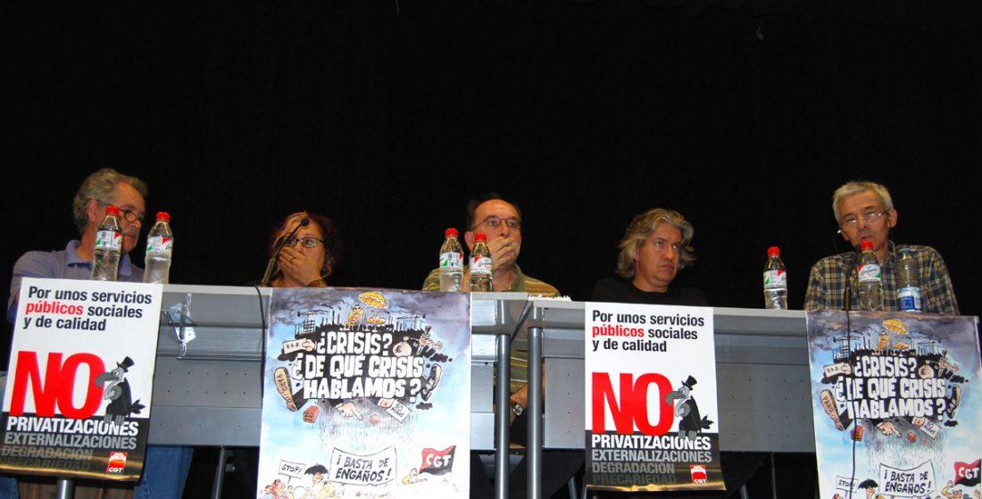 Celebradas las Jornadas de CGT «Una realidad de lucha y compromiso contra la crisis del capital»