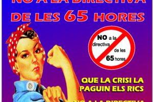 Manifestaciones y paros contra las directivas de retorno y de las 65 horas